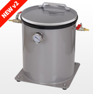 P5倍[1384]26L Vacuum Chamber for Degassing